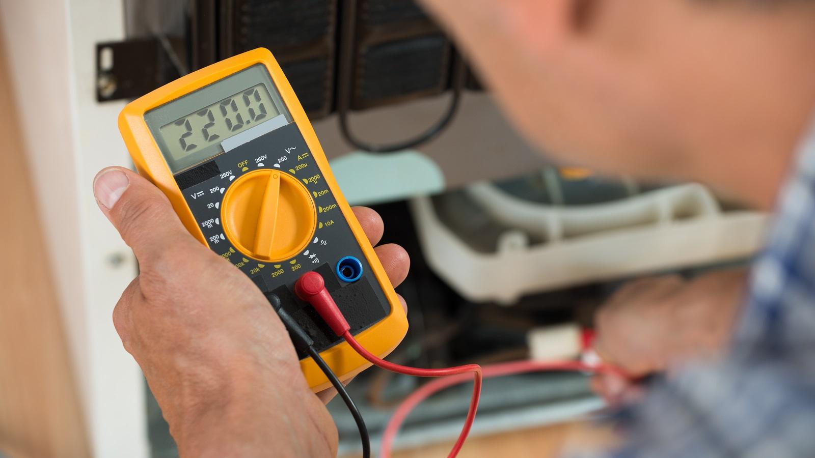 ремонт бытовой техники мультиметром